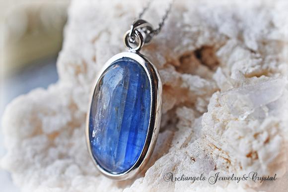 天然石 パワーストーン|カイヤナイト 藍晶石 ネパール産 ペンダント プレゼント アーキエンジェルズ 大分市 ジュエリー